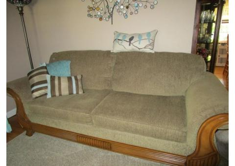 (2) La-Z-Boy Rocker Recliners and Matching Sofa