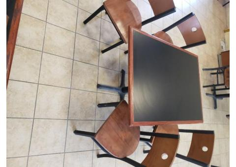 10 tables w/ 35 chairs. Great condition. $450