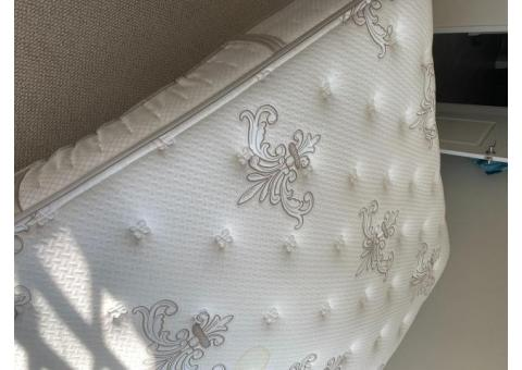 Luxury Plush Queen Mattress (Fairly New and Clean)